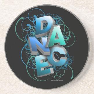 práctico de costa de la primavera de la danza 3D Posavasos Diseño