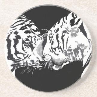 práctico de costa de la reunión de los tigres posavasos personalizados