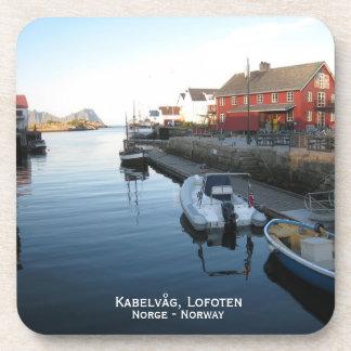 Práctico de costa de las bebidas de Kabelvåg Posavasos De Bebidas