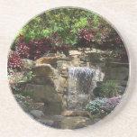 Práctico de costa de las cascadas del jardín posavasos manualidades