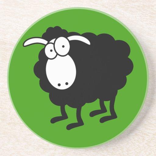 Práctico de costa de las ovejas negras posavasos personalizados