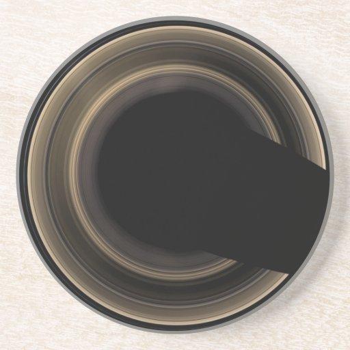 Práctico de costa de los anillos de Saturn Posavasos Para Bebidas