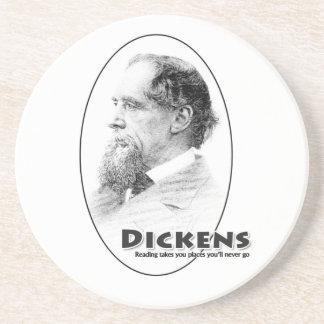 Práctico de costa de los Autores-Dickens Posavasos Personalizados