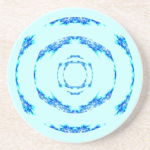 Práctico de costa de los azules claros posavasos manualidades