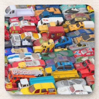 Práctico de costa de los coches y de los camiones  posavasos de bebidas