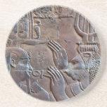 Práctico de costa de los Hieroglyphics de Egipto a Posavasos Diseño