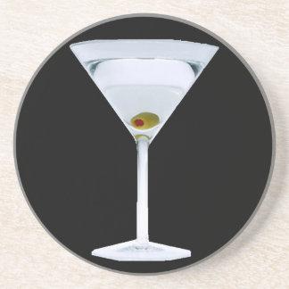 Práctico de costa de los martinis posavasos personalizados