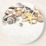 Práctico de costa de los Seashells Posavasos Manualidades