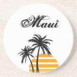 Práctico de costa de Maui Posavaso Para Bebida