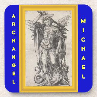 Práctico de costa de Michael del arcángel Posavasos De Bebidas