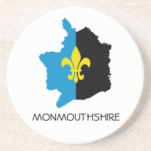 Práctico de costa de Monmouthshire Posavasos Diseño