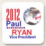 Práctico de costa de Paul Ryan VP Posavasos De Bebidas