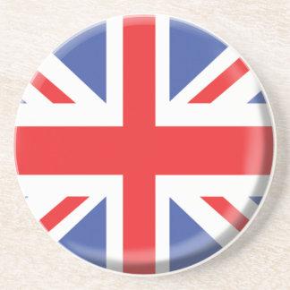 Práctico de costa de Reino Unido Posavasos Personalizados