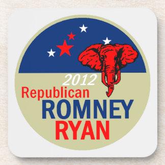 Práctico de costa de Romney Ryan Posavasos