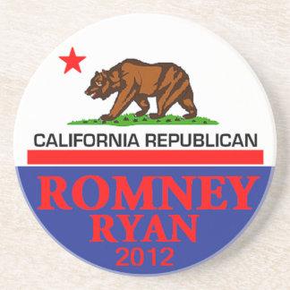 Práctico de costa de Romney Ryan Posavasos Cerveza