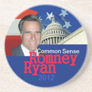 Práctico de costa de Romney Ryan Posavasos De Arenisca