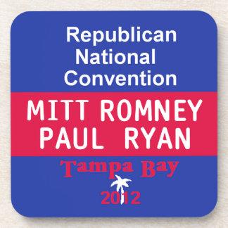 Práctico de costa de Romney Ryan Posavasos De Bebida