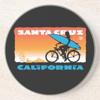 Práctico de costa de Santa Cruz, California Posavasos Para Bebidas