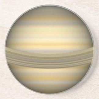Práctico de costa de Saturn Posavasos Para Bebidas