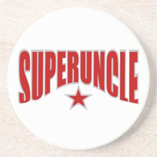 Práctico de costa de SUPERUNCLE - personalizable Posavasos Para Bebidas