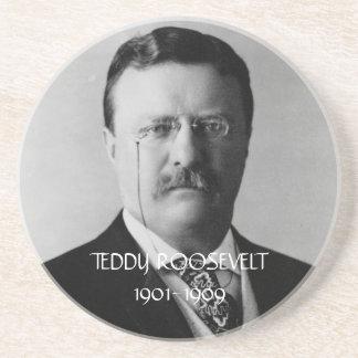Práctico de costa de Teddy Roosevelt Posavasos Diseño