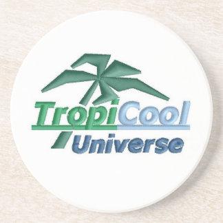 Práctico de costa de TropiCoolUniverse (blanco) Posavasos Manualidades