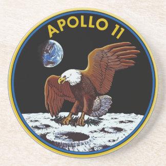 Práctico de costa del alunizaje de Apolo 11 Posavasos Personalizados