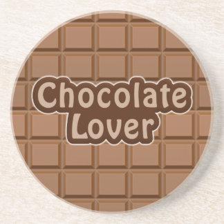 Práctico de costa del amante del chocolate posavasos manualidades