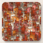 Práctico de costa del arte abstracto 130 posavaso
