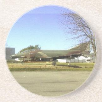 Práctico de costa del avión de combate (F4-Phantom Posavasos Personalizados
