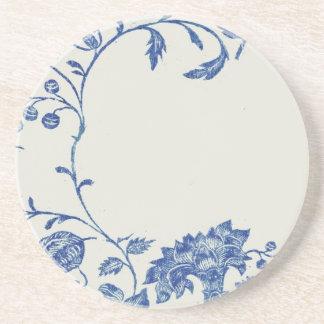 Práctico de costa del azul de Delft Posavasos Diseño