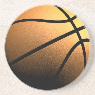 Práctico de costa del baloncesto posavasos diseño