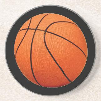 Práctico de costa del baloncesto posavasos de arenisca