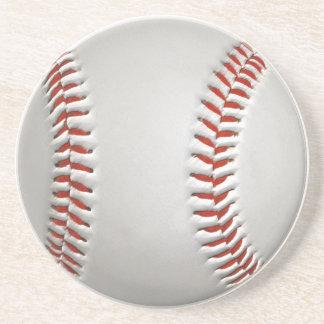 Práctico de costa del béisbol posavaso para bebida