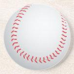 Práctico de costa del béisbol posavasos diseño
