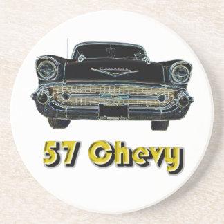 'Práctico de costa del Bel Air de 57 Chevy Posavasos Para Bebidas