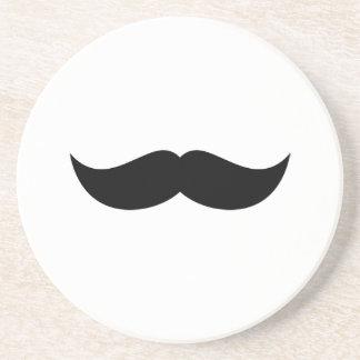 Práctico de costa del bigote posavasos diseño