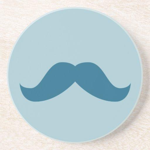 Práctico de costa del bigote posavasos para bebidas