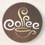 Práctico de costa del café posavasos para bebidas