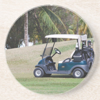 Práctico de costa del carro de golf posavasos manualidades