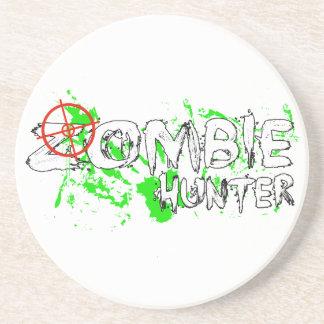 Práctico de costa del cazador del zombi posavasos para bebidas