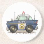 Práctico de costa del coche del poli de Crusier de Posavasos Para Bebidas