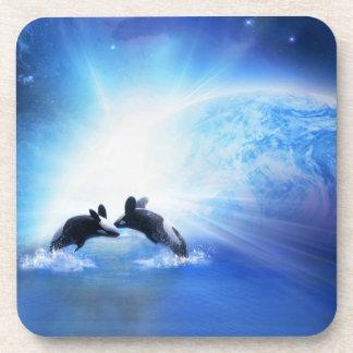 Práctico de costa del corcho de la danza de la orc posavaso