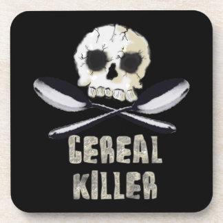 Práctico de costa del corcho del asesino del cerea posavasos de bebida
