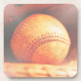 Práctico de costa del corcho del béisbol posavaso