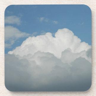 Práctico de costa del corcho del cielo posavasos