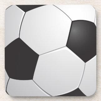 Práctico de costa del corcho del fútbol del fútbol posavaso