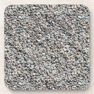 Práctico de costa del corcho del guijarro de la ro posavasos