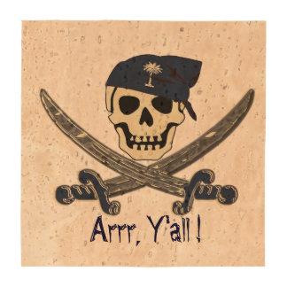 Práctico de costa del corcho del pirata de Carolin Posavasos