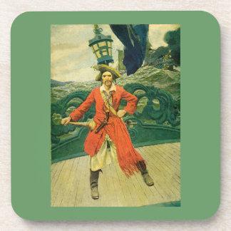 Práctico de costa del corcho del pirata posavaso